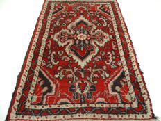 """Hamadan – 93 x 63 cm – """"Persian carpet in beautiful condition."""" – Please note! No reserve price, starts at €1"""