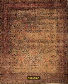 Antique Kerman – Persia 385 x 310 – hand-knotted – second half of '800