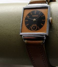 ROAMER  * Art Deco – Men's watch – 1940s
