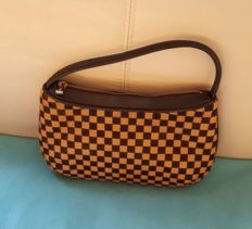 Louis vuitton -  Tigre Damier Sauvage Pony hair pochette - Limited edition
