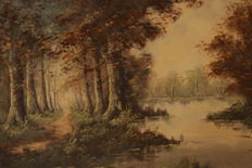 J. Somers - Forest pond