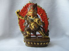 Statue of Vajrapani - India - second half of the 20th century