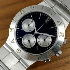"Bulgari Chronograph ""Panda""  Men´s Date Watch"