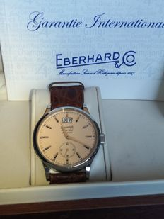 Eberhard – Men's watch – Extra-Fort Grande Date – Ref.: 41024 – Code: EBE Q18