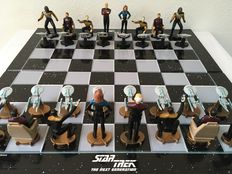Star Trek 3D chess set