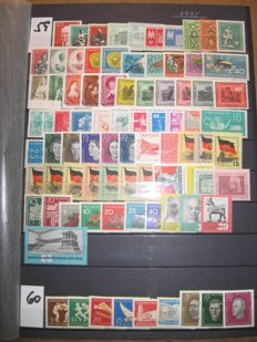 GDR 1959/1990 – collection in a stockbook