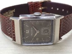 "Bulova ""Engineer"" Mens watch Cal 8AE Art Déco 1940's"