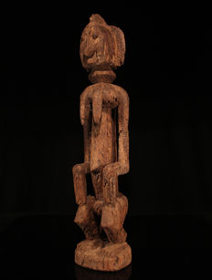Large zoomorphic DOGON statue from Mali
