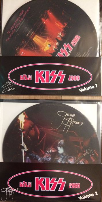 Kiss LP set || 2 Lp's || Picture disc || Limited edition ||