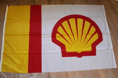 Large Shell Flag 2,15m x 1,45m