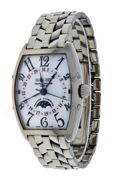 Franck Muller Master of Complications Calendar - Moon Phase - 2850 MCL - White Gold Men's Watch
