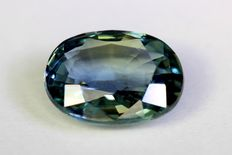 Sapphire – 1.36 ct – Green – No reserve price