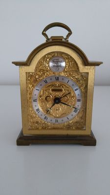Swiss table clock – Swiza – Tempus Fugit – mid 20th century