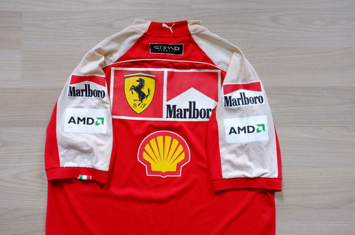 rare marlboro scuderia ferrari f1 2009 kimi raikkonen michael schumacher team polo catawiki. Black Bedroom Furniture Sets. Home Design Ideas