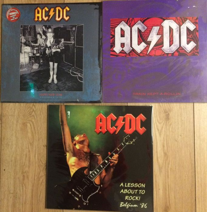 AC/DC LP set  || 3 LP's || Limited edition || Numbered || Coloured vinyl || Still in sealing