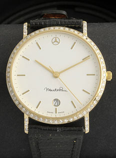 Mercedes - Gold - Unisex watch