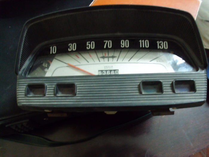 Odometer/speedometer Veglia for FIAT 850 cars