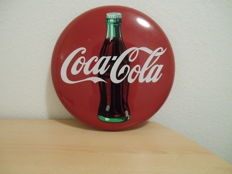 Coca Cola metal sign, 1990s