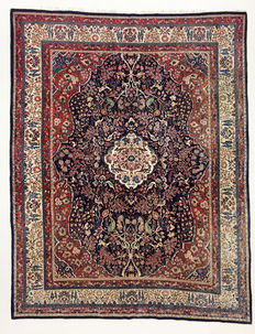 Persian carpet, beautiful Sarough, 320 x 250 cm