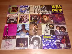 "Lot of 70 7"" funk and soul singles"
