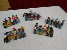 Assorted - 60 Lego mini figures + animals