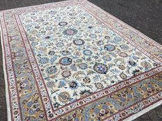 KASHAN - approx. 376 x 250 cm - IRAN / Persia - handwoven - end of the 20th century