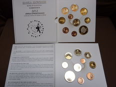 Slovenia– Lot of 2 official KMS (x10 coins) 2012