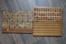 Dutch reading board from Hoogeveen, The Netherlands, early 1900s