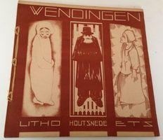 Wendingen; H.C. Verkruijsen - Litho, woodcut, etching - year 9, number 10 - 1928