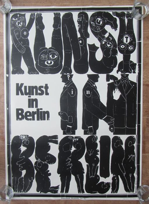 Unknown artist - Kunst in Berlin - Art Poster