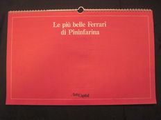 The most beautiful FERRARI cars by Pininfarina - 43x28 cm