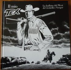 "Civitelli, Fabio - volume ""Il mio TEX. La ballata del West"", with a lithograph -(2010)"