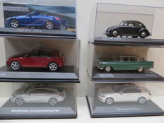 Minichamps/DeAgostini/Kyosho/Schuco - Scale 1/43 - Lot with 6 German models
