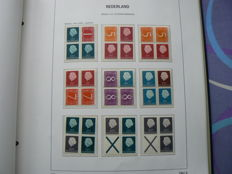 The Netherlands 1964/1993 - collection combinations and postage stamp booklets in 2 albums