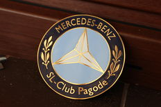 Mercedes Grill Badge - Mercedes Benz - SL Pagode Club