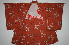 Silk Haori Plum Blossom – Japan – First half of the 20th century