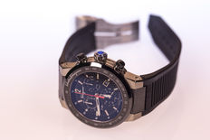 Exclusive Salvatore Ferragamo Titanium F-80 Chronograph