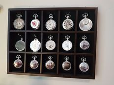 Luxury Silver plated pocket watches