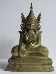 Bronze Buddha - Myanmar - second half of the 20th century