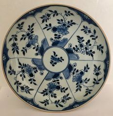 Cobalt blue plate – China – Early 18th century
