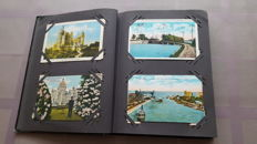 Album with postcards from Canada 123X