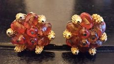 Alice Caviness Vintage Clip Earrings New York 1955-1960