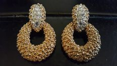 Panetta dangle clip earrings New York 1955-1960