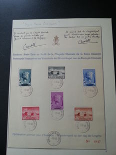 Europe with Belgium, Belgian Congo, Luxembourg and Liechtenstein, Spain – Auction lots and cards and sheets starting from classic