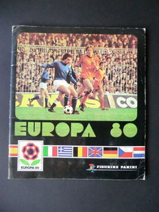 Panini - Europa 80 - Complete album - In very good condition.