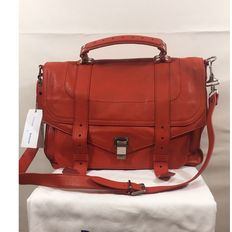 Proenza Shouler – PS1 large leather briefcase