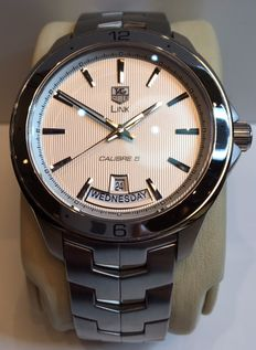 Tag Heuer Link WAT2011 Calibre 5 (day - date) - Mens watch