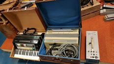 Two special Farfisa Electric accordions from the 1960s/70s.