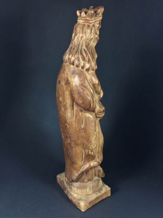 evaluation of the sculpture virgin and Start studying swa art finals study set learn  which period or style of greek sculpture represents the greeks' first attempts at  the virgin mary,.