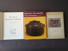 Japanese arts and the tea ceremony, by Hayashiya, Japans aardewerk by Knuttel jr. and The art of Japanese ceramics